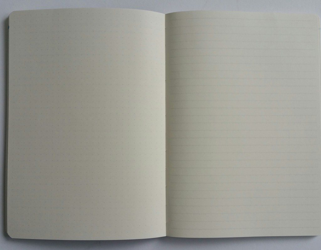 Traveler Notebook with dot grid and indent lines