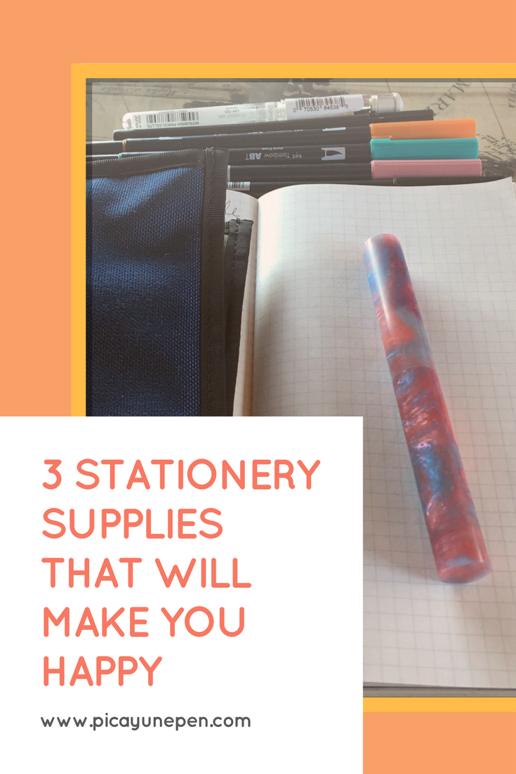 3 Stationery Supplies That Will Make You Happy