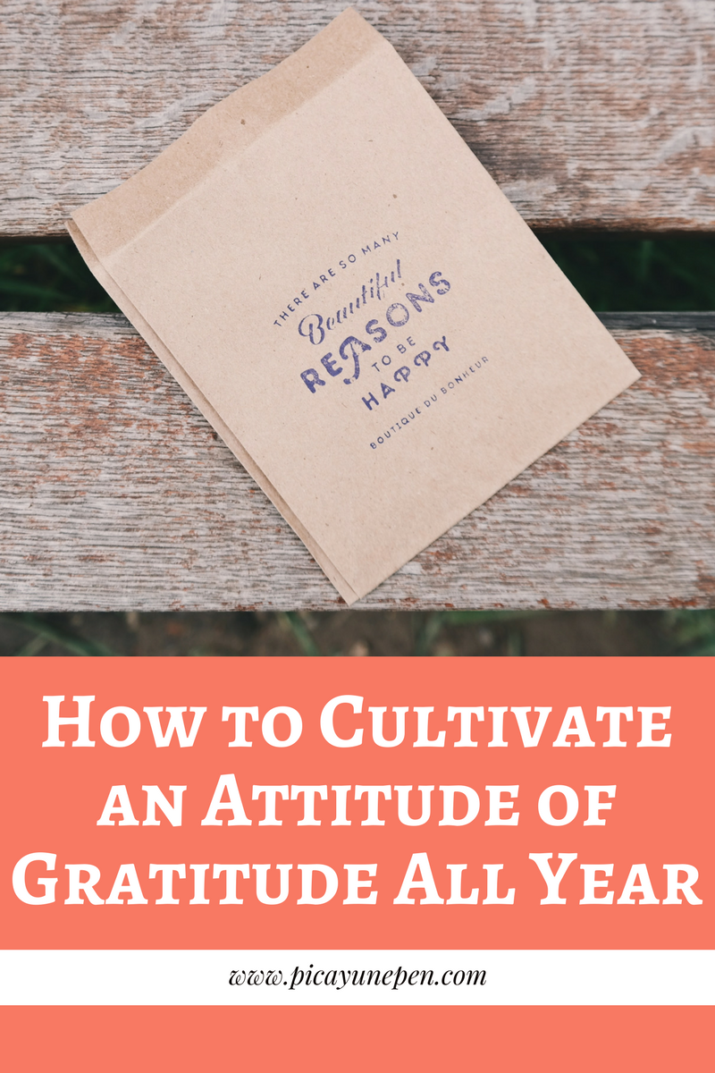 How to Cultivate an Attitude of Gratitude All Year - www.aprilhayman.com -