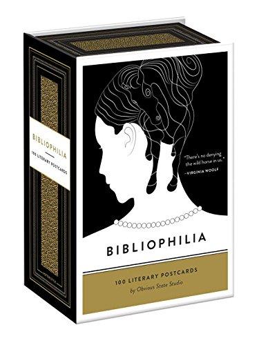 Picayune Pen | Bibliophilia 100 literary postcards