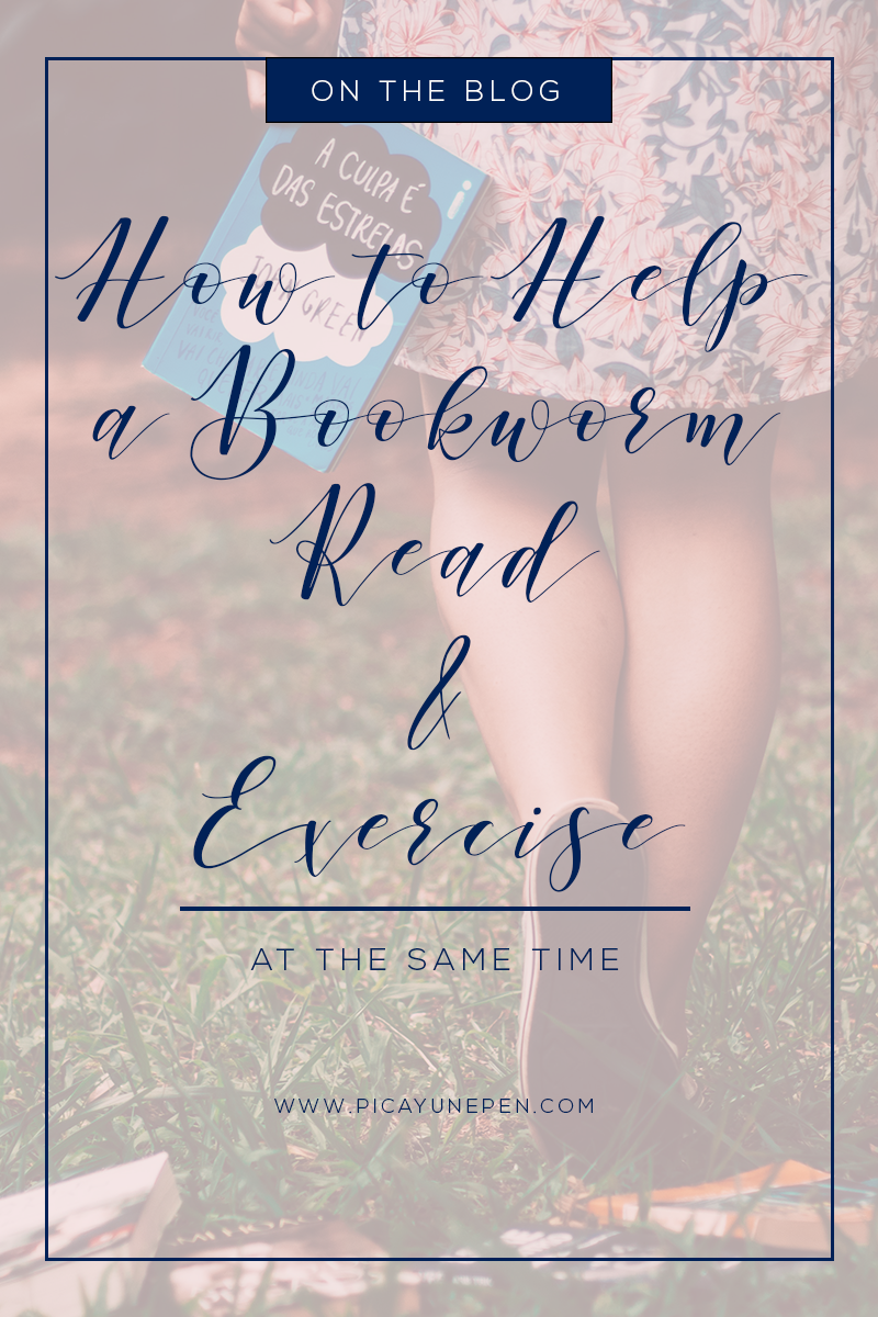 April Hayman, Author | How to Help A Bookworm Read & Exercise at the Same Time