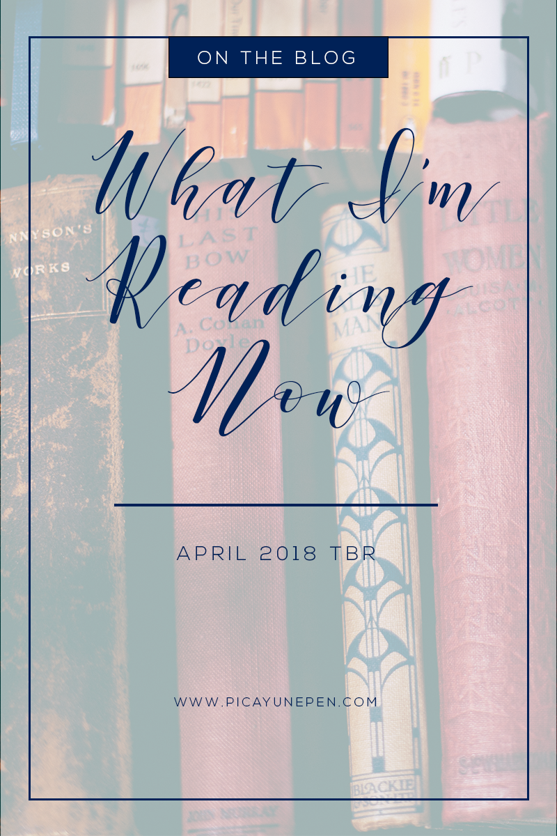 April Hayman | To Be Read List for April 2018