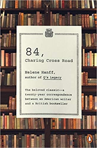 April Hayman, Author blog | 84 Charing Cross Road by Helene Hanff