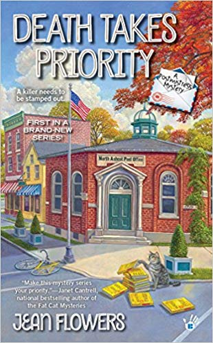 April Hayman, Author blog | Death Takes Priority by Jean Flowers