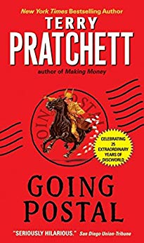 April Hayman, Author blog | Going Postal by Terry Pratchett