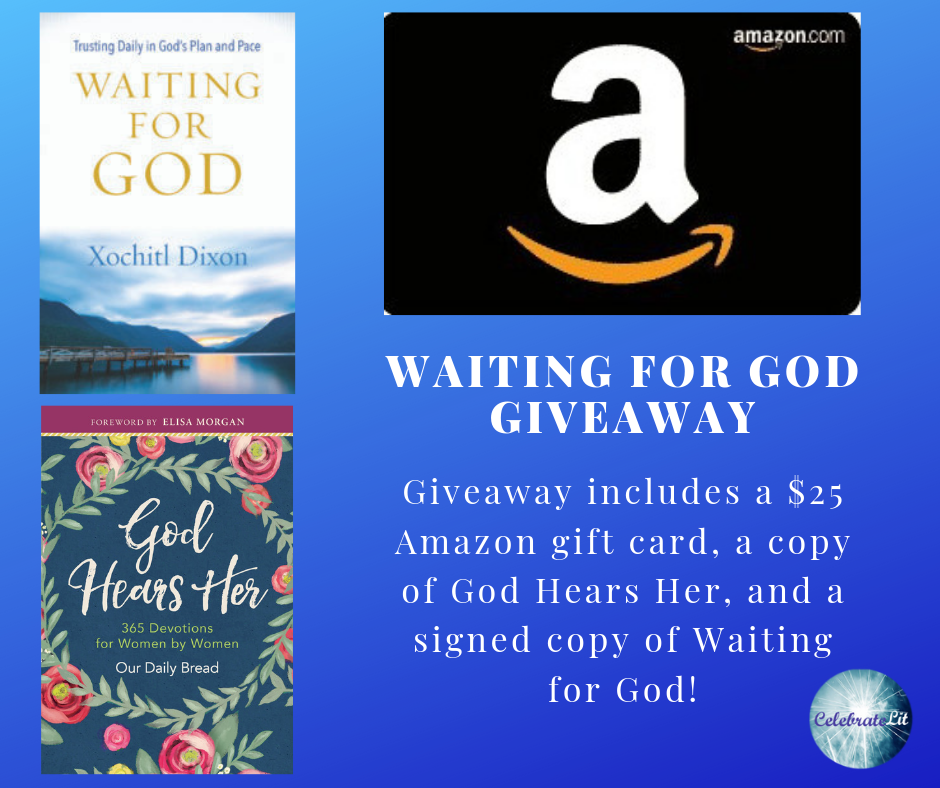 waiting for God giveaway