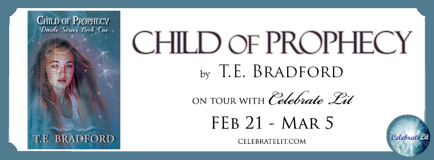 Banner for Child of Prophecy by T.E. Bradford