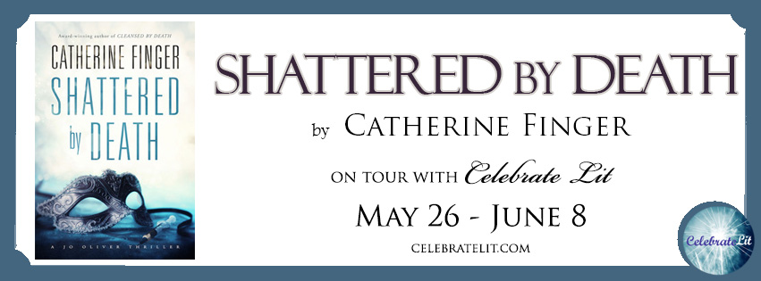 Banner for Shattered by Death by Catherine Finger