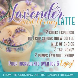 Recipe for Lavender Latte