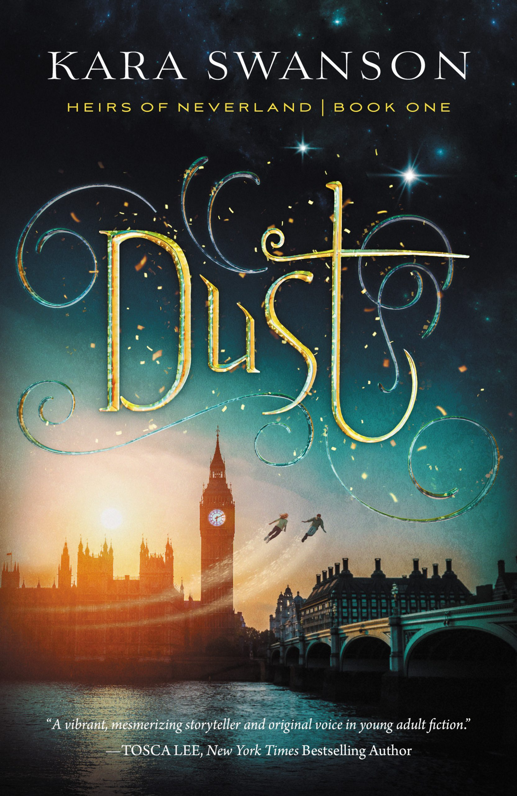 Book cover for Dust by Kara Swanson